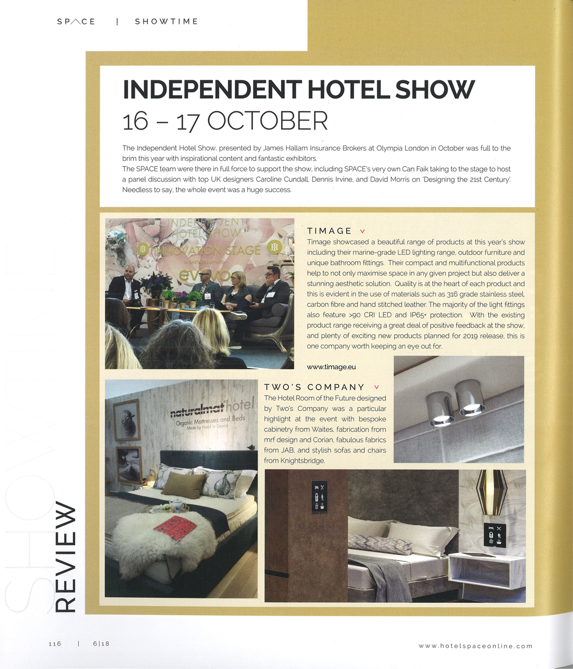 Space independant hotel show